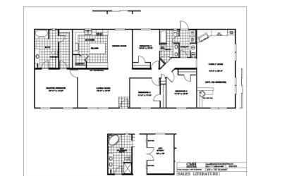 Manufactured Home Floor Plan Clayton Summitt Sum